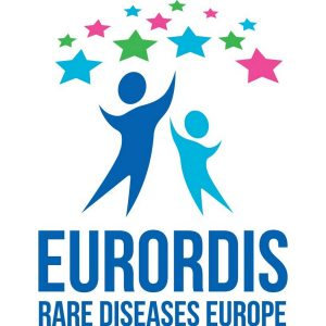 logotipo eurordis rare diseases europe